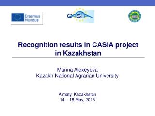 Marina Alexeyeva Kazakh National Agrarian University