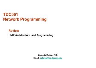 TDC561  Network Programming