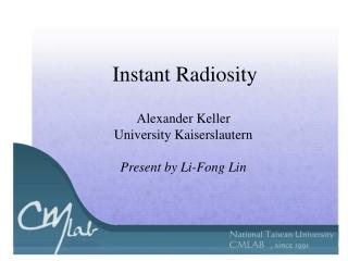 Instant Radiosity