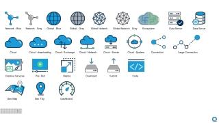 Network - Blue