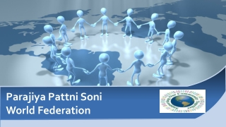Parajiya Pattni Soni  World Federation