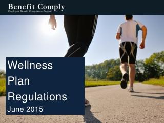 Wellness Plan Regulations June 2015