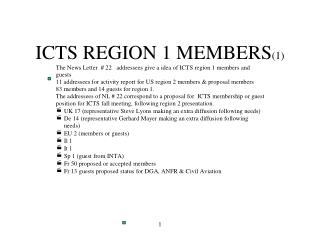 ICTS REGION 1 MEMBERS (1)