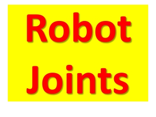Robot Joints