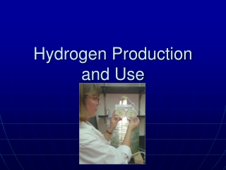 Hydrogen Production and Use
