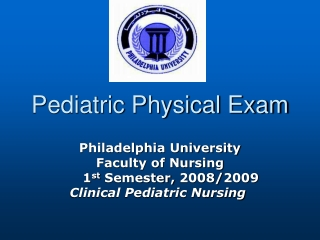 Pediatric Physical Exam
