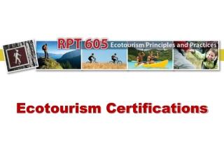 Ecotourism Certifications