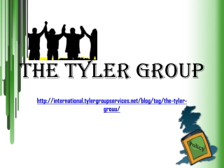 The Tyler Group,  Utvecklingen i UK utrikespolitik
