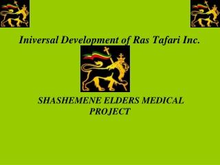 Iniversal  Development of Ras Tafari Inc.