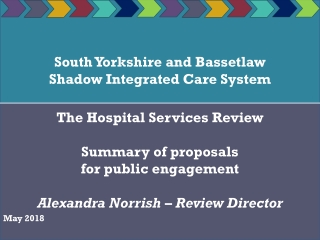 South Yorkshire and Bassetlaw Shadow Integrated Care System