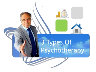 3 Types Of Psychotherapy