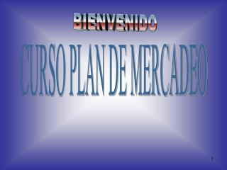 CURSO PLAN DE MERCADEO