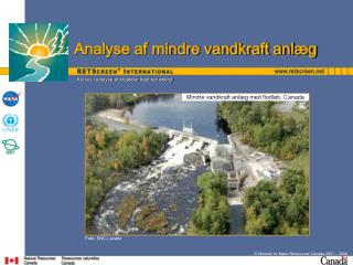 Minister for Natur Ressourcer Canada 2001   2006.