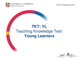 TKT: YL Teaching Knowledge Test: Young Learners