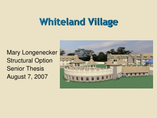 Whiteland Village