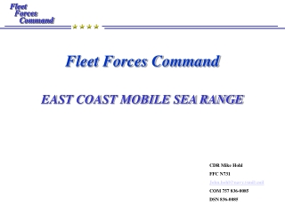 Fleet  Forces Command Command