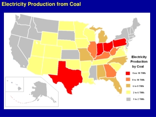Electricity Production from Coal
