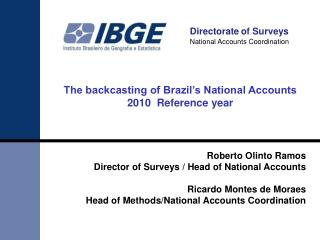 Directorate of  Surveys National Accounts Coordination