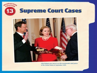 Section 3 Due Process and the Fourteenth Amendment