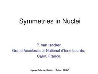 Symmetries in Nuclei