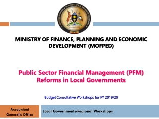 Local Governments-Regional Workshops