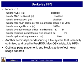 Berkeley FFS