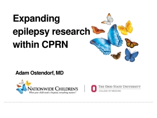 Expanding epilepsy research within CPRN