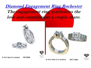 Diamond Engagement Ring Rochester
