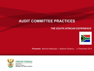 AUDIT COMMITTEE PRACTICES