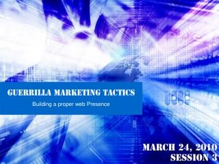 Guerrilla Marketing Tactics