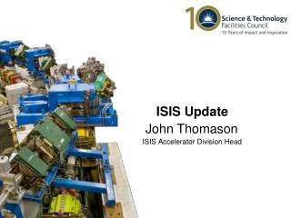 ISIS Accelerator Division Head