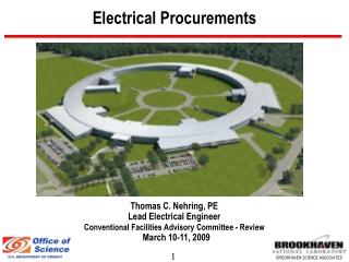 Electrical Procurements