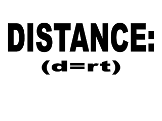 DISTANCE: