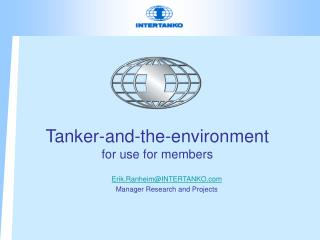 Tanker-and-the-environment for use for members