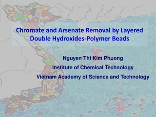 Chromate and Arsenate Removal by Layered Double Hydroxides-Polymer Beads