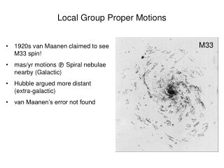 Local Group Proper Motions