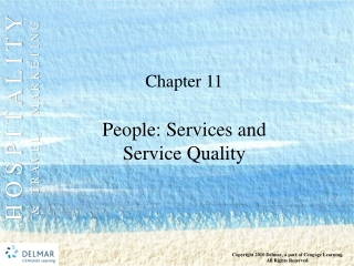 People: Services and  Service Quality