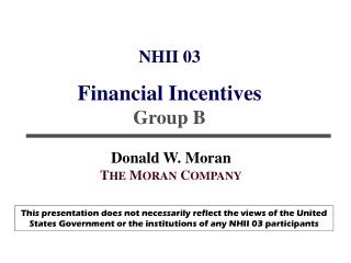 NHII 03 Financial Incentives  Group B