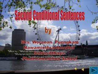 Second Conditional Sentences