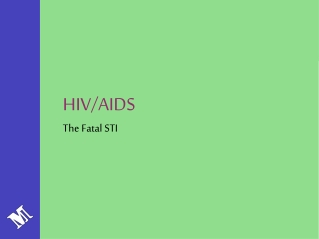 HIV/AIDS The Fatal STI