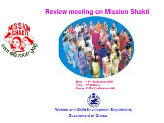 Women and Child Development Department,