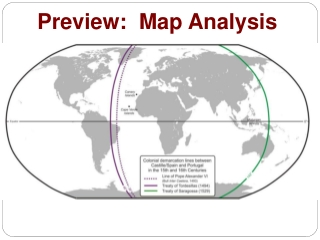 Preview:  Map Analysis