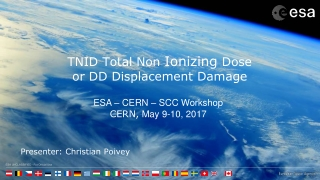 TNID Total Non  Ionizing  Dose or DD Displacement Damage