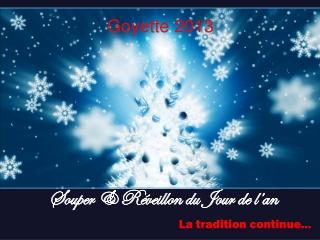 Invitation reveillon