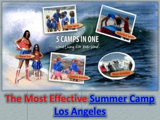 Summer Camps Los Angeles