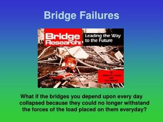 Bridge Failures