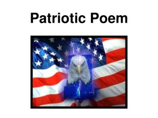 Patriotic Poem