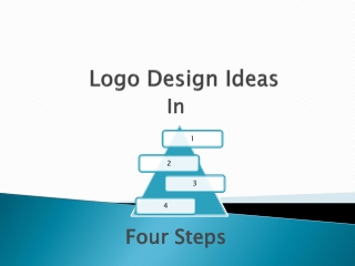 Logo Design Ideas in 4 steps