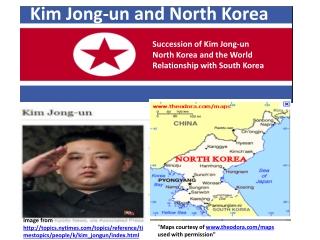 Kim Jong-un and North Korea