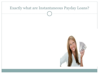 Utilizing Payday Financial products?